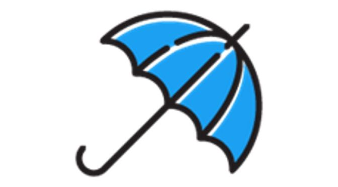 Blue Umbrella Emoji For Twitter Users, Enjoy Monsoon Season