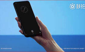 vivo shows prototype full screen phone new display fingerprint sensor