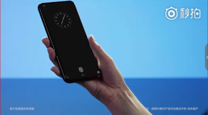 "Vivo shows Prototype of Full-Screen Phone with New ""Under Display"" Fingerprint Sensor"