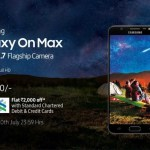 samsung galaxy max flagship camera launched india
