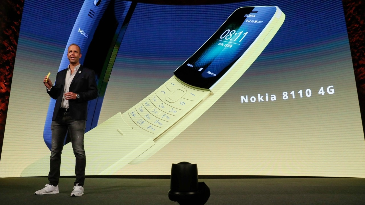 HMD global may launch Nokia 8110 4G in China soon