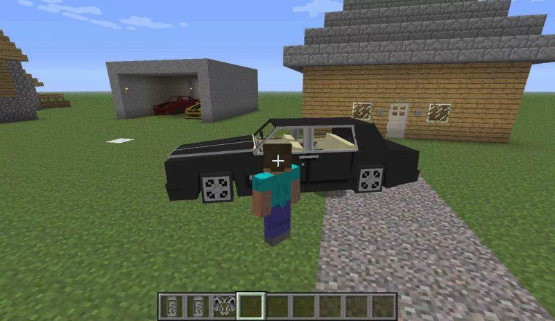 Kişisel araba minecraft