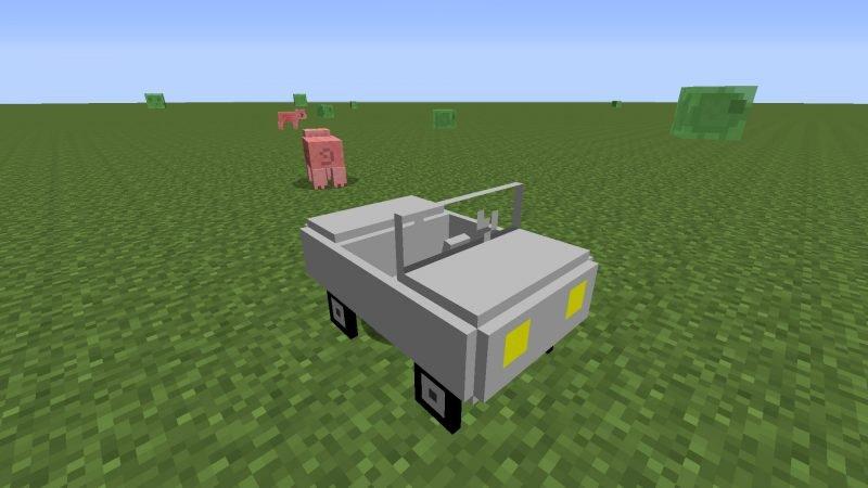 Motorsuz Makine Minecraft
