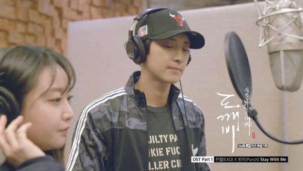 EXO Chanyeol & Punch