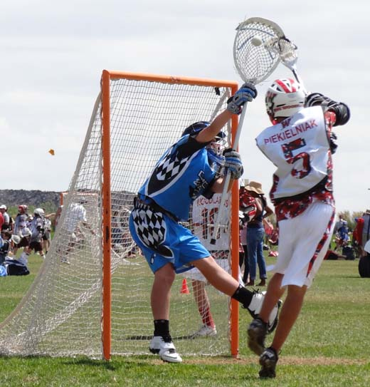 Ryan Johns Hopkins Lacrosse Goalie