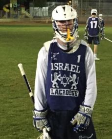 Goalie Jakon Katzen of Wilmington Friends (DE) was one of the US players that triedout for Team Israel.