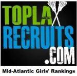 Final TopLaxRecruits Girls' Mid-Atlantic Rankings: McDonogh is No. 1