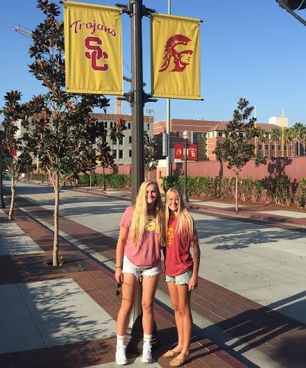 Delaney (left) and Savannah Sweitzer