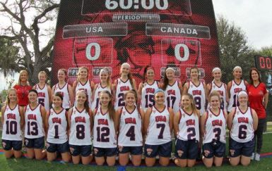 Team USA will meet Team Canada at 9 a.m. Sunday for the Brogden Cup title