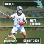 .@ConnectLAX boys' recruit: Nease (FL) 2020 LSM Pounder commits to Jacksonville