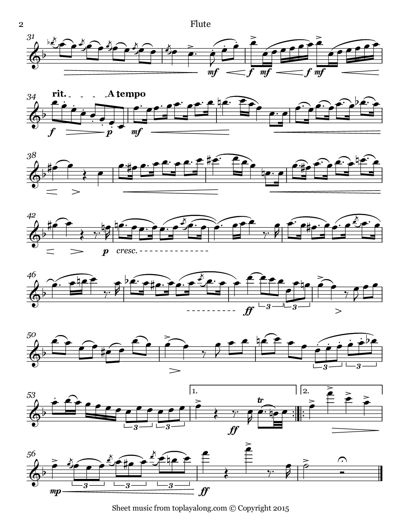 National Anthem Sheet Music Of Bolivia