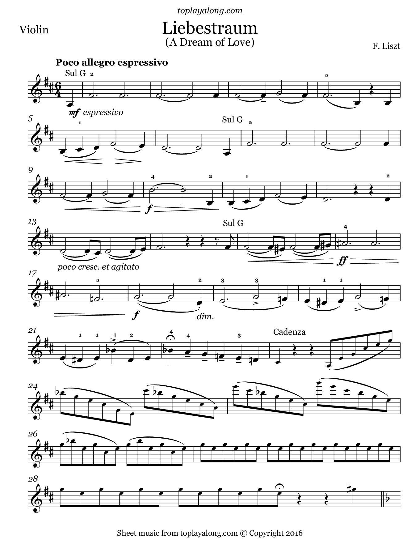 Liebestraum No 3 Toplayalongcom