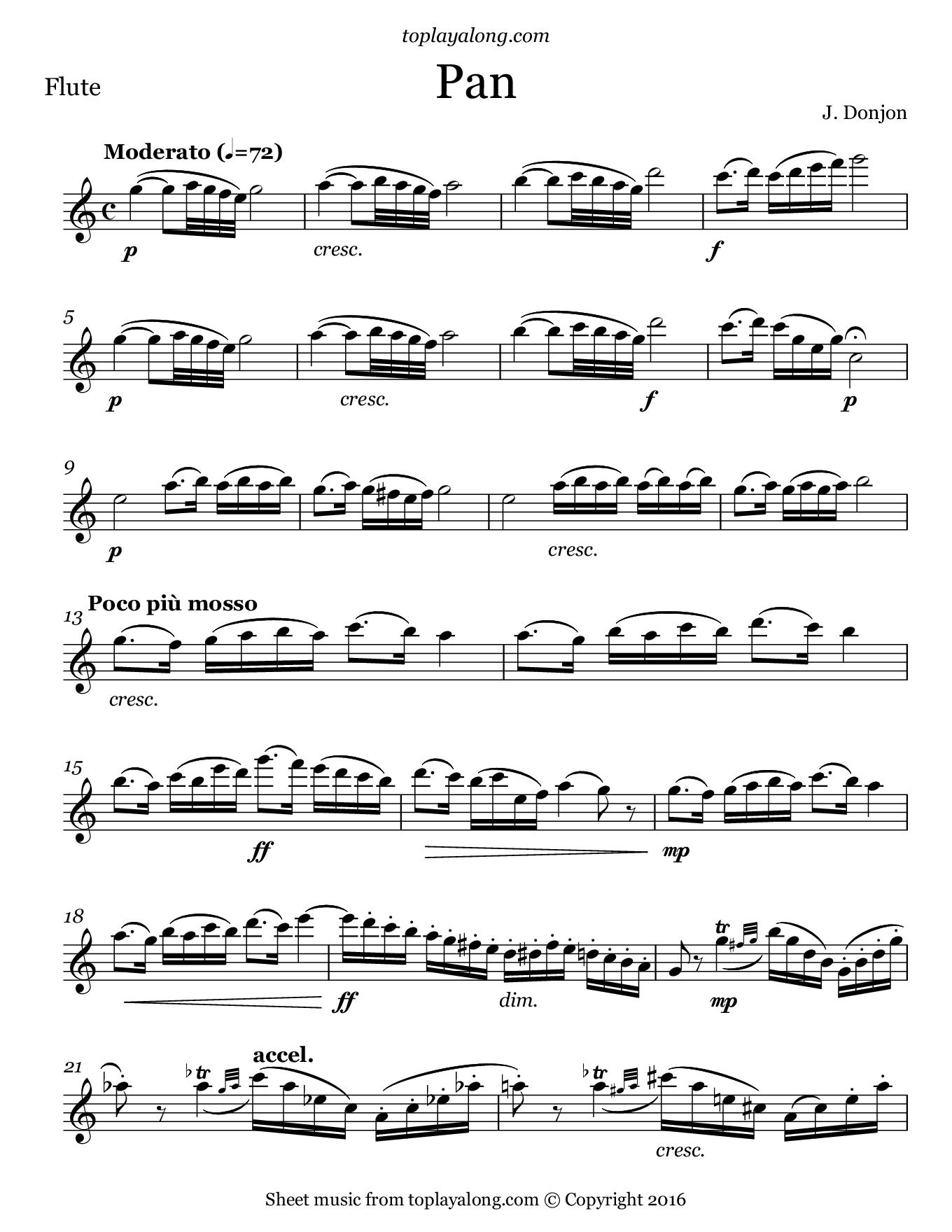 Anthem Opera Piano Sheet