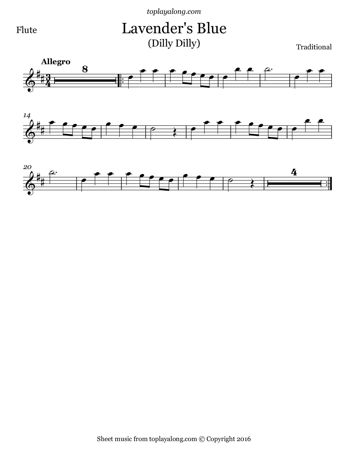 Lirik Lagu Lavender's Blue : lirik, lavender's, Music, Score, Collection:, Lavenders, Cinderella, Sheet