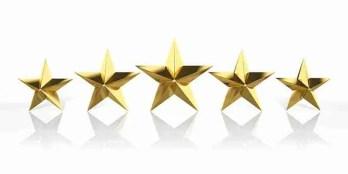 Top Line 5 Stars on Google