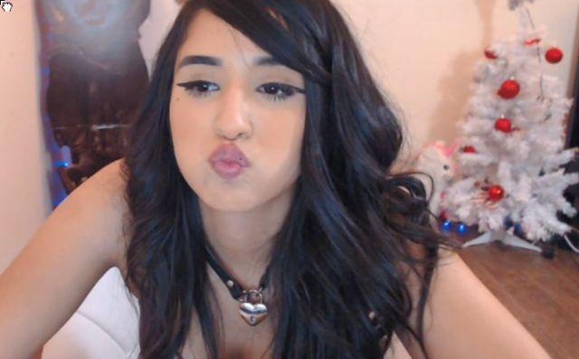 naked on webcam