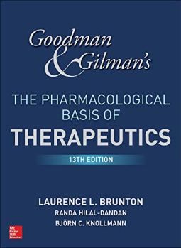 Goodman and Gilman's the pharmacological basis of therapeutics pdf