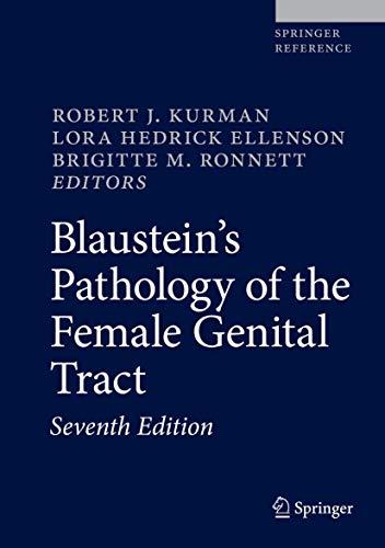 Blaustein's Pathology of the Female Genital Tract pdf