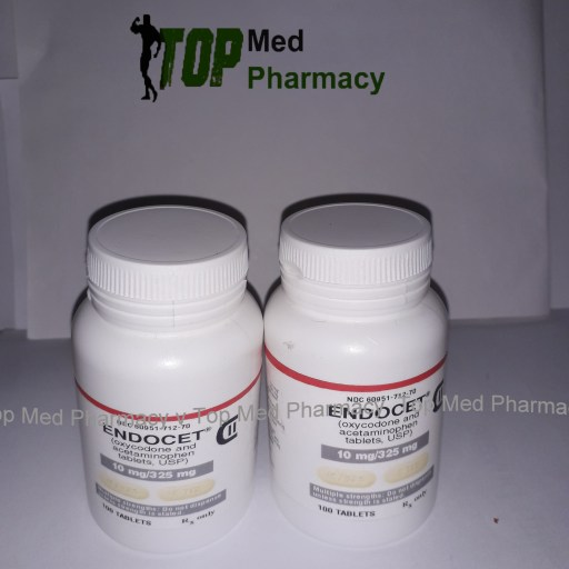 Endocet 10mg325mg (oxycodone and acetaminophen)