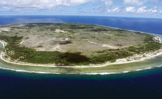 самое маленькое островное государство Науру. Фото