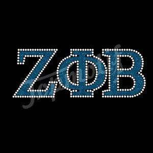 ZOB iron on rhinestone transfer motif designs for garments