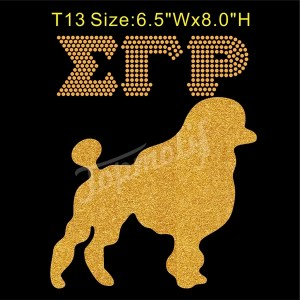 Sigma Gamma Rho Glitter Heat Transfer Vinyl Tee Shirt Iron Ons Wholesale