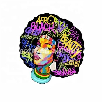 Custom African Girl Heat Transfer Printing Vinyl