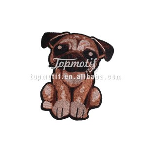Dog customized patches for clothing