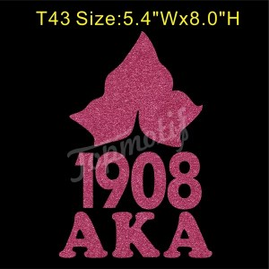 Ivy 1908 Aka Glitter Vinyl Transfer Wholesale Heat Transfers For T-Shirts