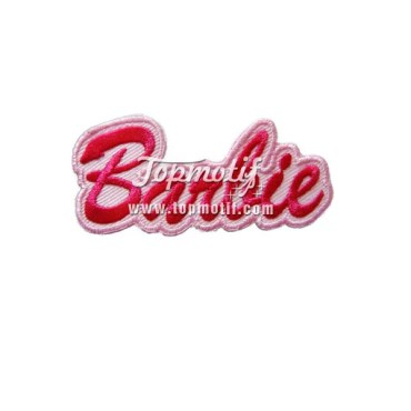 Custom Embroidery Patches Barbie Arm Patches