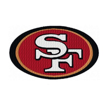 Embroidery Patch 49ers Transfer