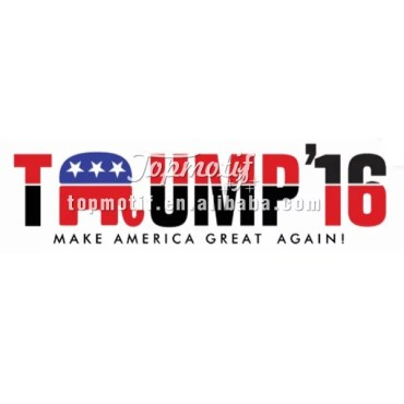 Custom Printed T Shirts Vinyl Design Trump'16 Sublimation Printing