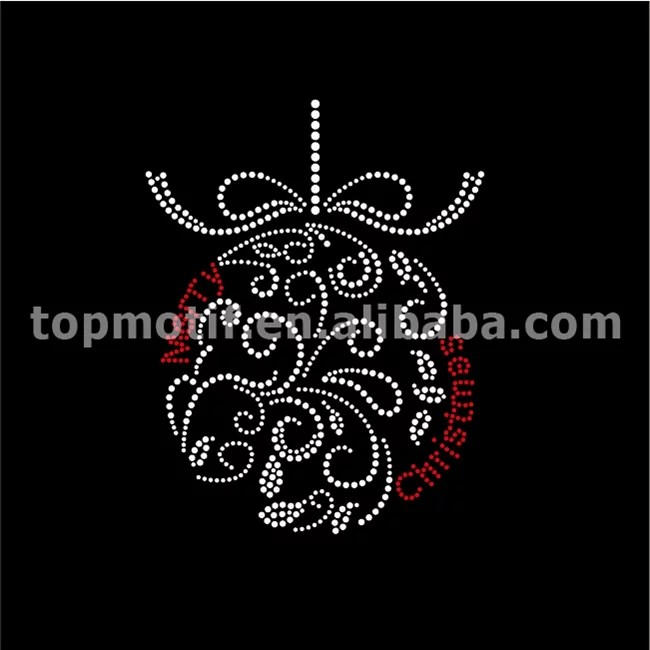 wholesale shirt transfers chirstmas hot fix crystals in bulk
