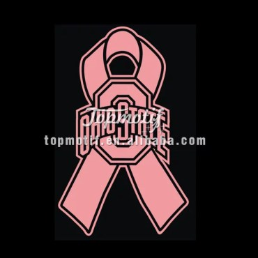 Ohio State Ribbon Cancer Hope High Quality Heat Transfer Vinyl