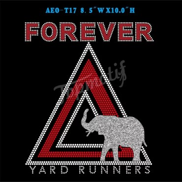 Aeo Hot Fix Stone Designs Forever Yard Runners Iron On Bling Appliques Wholesale