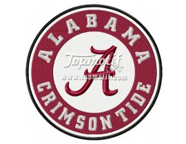 Embroidery Alabama Iron On Patches Wholesale