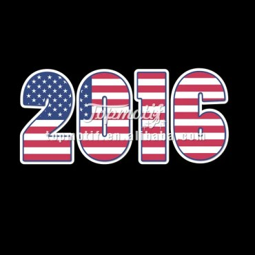 America Flag Heat Press Decals 2016 Iron On Heat Transfers Numbers