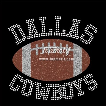 dallas cowboys rhinestone appliques wholesale