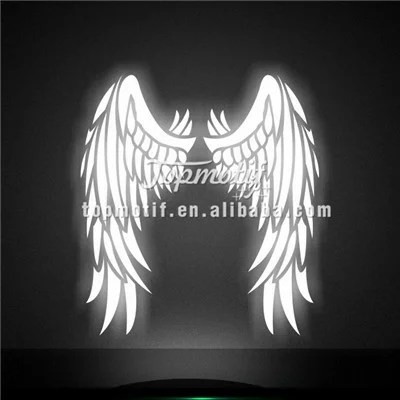 Glow in Dark Wing Reflective Heat Transfer Vinyl for T-shirt