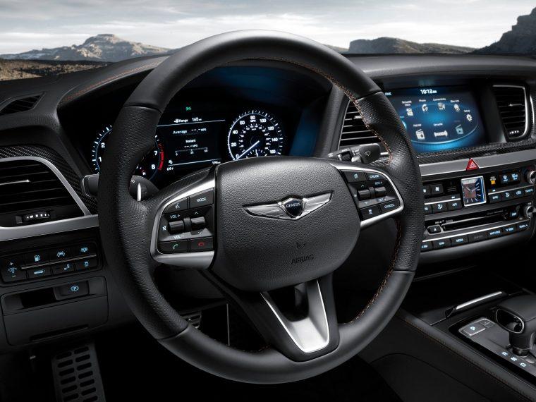 2018 Genesis G80 - Interior