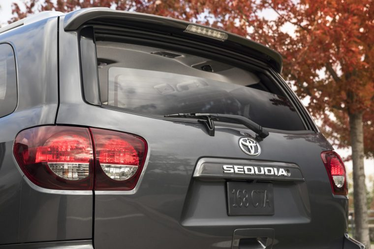 2018 Toyota Sequoia Exterior