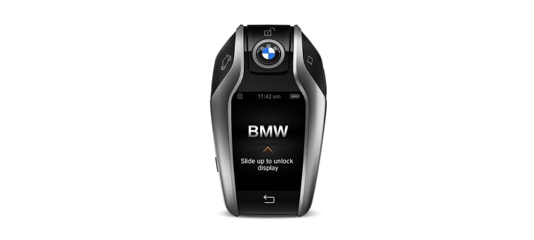 2017 BMW 750i Display Key Fob