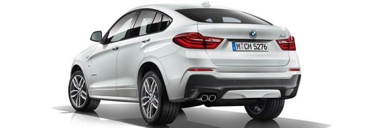 BMW X4 M40i Exterior