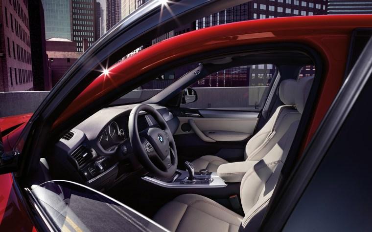 BMW X4 M40i Interior