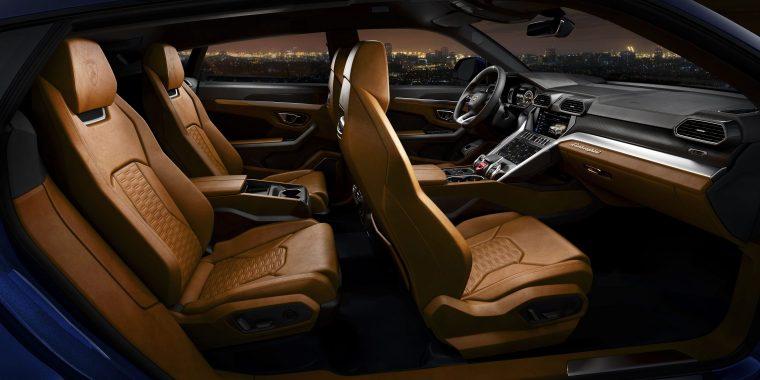 Lamborghini Urus Interior #2