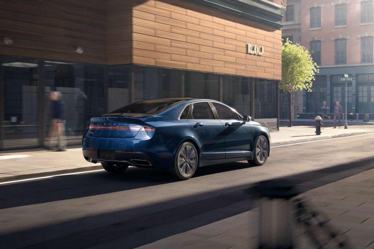 2018 Lincoln MKZ - Exterior Blue