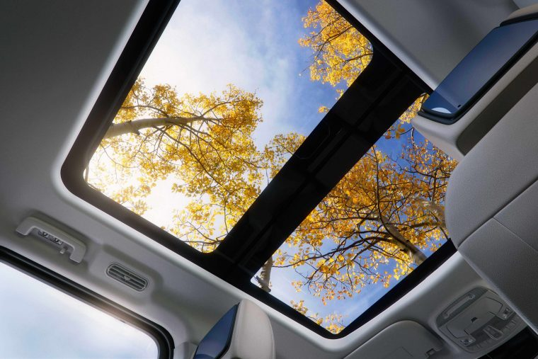 2018 Ford Expedition Panoramic Vista Roof