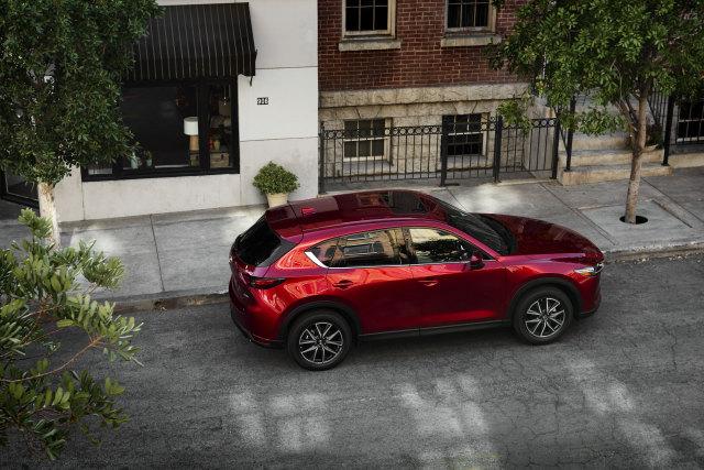 2018 Mazda CX-5 Exterior Overhead
