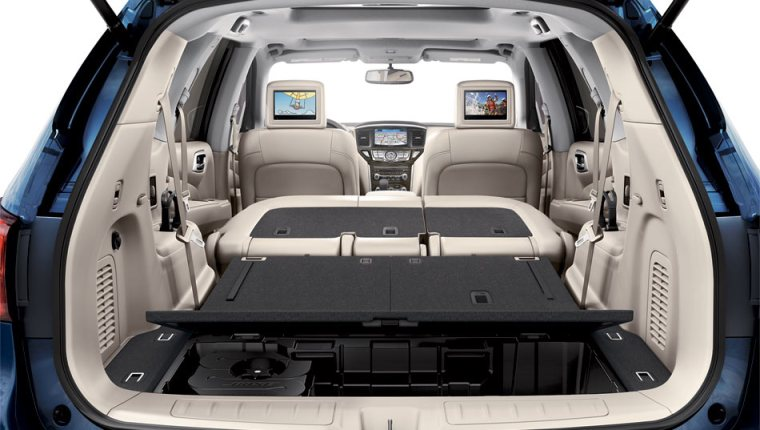 2018 Nissan Pathfinder - Interior Trunk