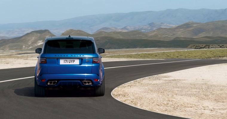 2018 Range Rover Sport SVR - Exterior Rear